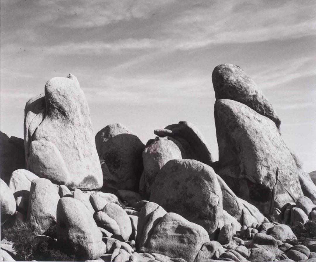 Joshua Rocks #4 by John Tilney, fine arts photographer